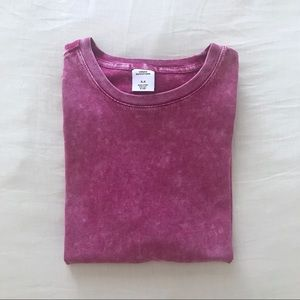 Urban Outfitters Pink Dye Tee